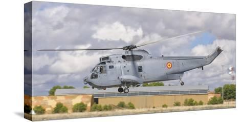 A Spanish Navy Sh-3D Helicopter-Stocktrek Images-Stretched Canvas Print