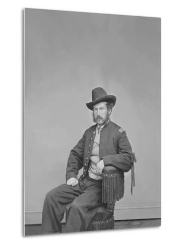 Captain Edward P. Doherty Portrait, Circa 1861-1865-Stocktrek Images-Metal Print