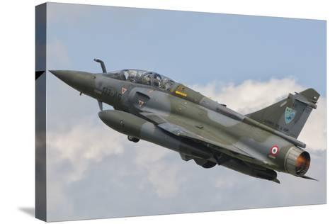 A French Air Force Mirage 2000N Taking Off-Stocktrek Images-Stretched Canvas Print