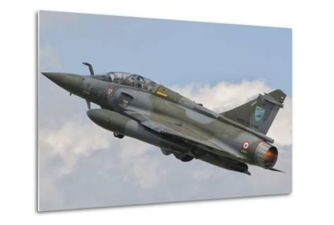 A French Air Force Mirage 2000N Taking Off-Stocktrek Images-Metal Print