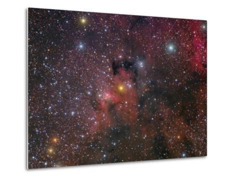 The Cave Nebula and Surroundings-Stocktrek Images-Metal Print
