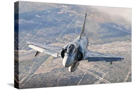 Brazilian Air Force Mirage 2000 Flying over Brazil-Stocktrek Images-Stretched Canvas Print