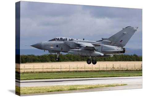 A Royal Air Force Tornado Gr4A Landing at its Home Base-Stocktrek Images-Stretched Canvas Print