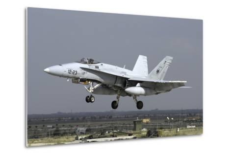 A Spanish Air Force Ef-18M Hornet During Exercise Anatolian Eagle-Stocktrek Images-Metal Print