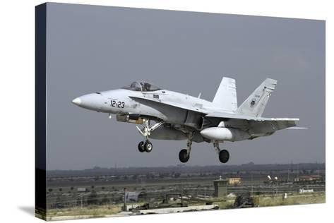 A Spanish Air Force Ef-18M Hornet During Exercise Anatolian Eagle-Stocktrek Images-Stretched Canvas Print