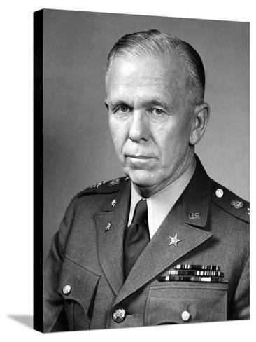 World War Ii Portrait of General George Marshall-Stocktrek Images-Stretched Canvas Print
