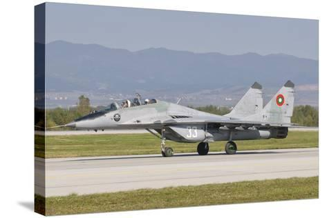 A Bulgarian Air Force Mig-29, Bulgaria-Stocktrek Images-Stretched Canvas Print