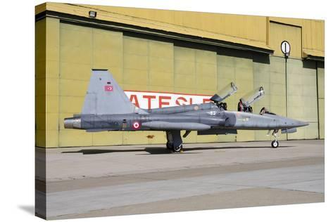 A Turkish Air Force F-5B-2000 Freedom Fighter-Stocktrek Images-Stretched Canvas Print