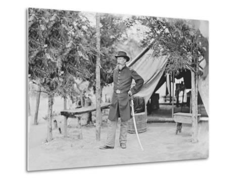 Captain James O'Rourke of the 4th New York Heavy Artillery-Stocktrek Images-Metal Print