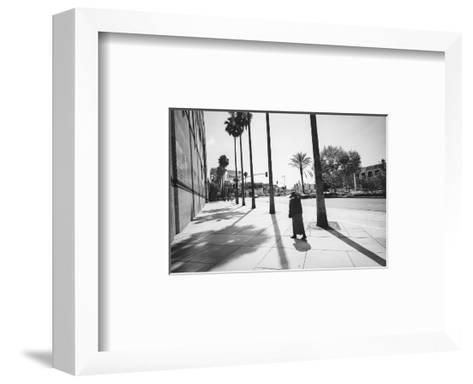 Los Angelas Miricle Mile Walker-Henri Silberman-Framed Art Print