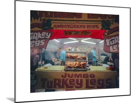 North Carolina State Fair Turkey Legs-Henri Silberman-Mounted Photographic Print