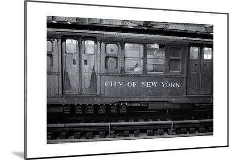 Subway Car Close-Up Nyc-Henri Silberman-Mounted Photographic Print