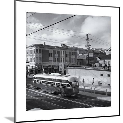 Vintage Trolley, San Francisco-Henri Silberman-Mounted Photographic Print