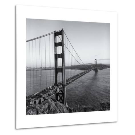 Golden Gate Bridge Late Afternoon-Henri Silberman-Metal Print