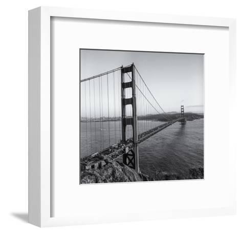 Golden Gate Bridge Late Afternoon-Henri Silberman-Framed Art Print