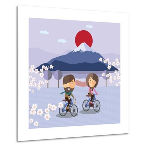 Travel in Japan-Sajja-Metal Print