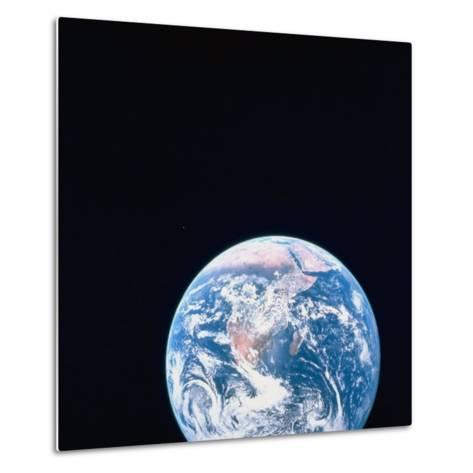 Earth Viewed from Deep Space--Metal Print