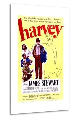 Harvey - Movie Poster Reproduction--Metal Print