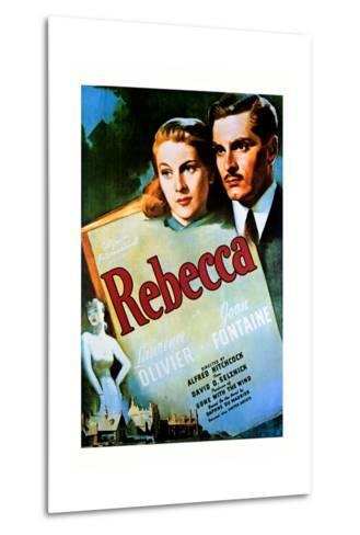Rebecca - Movie Poster Reproduction--Metal Print