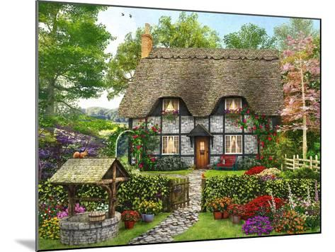 Meadow Cottage-Dominic Davison-Mounted Art Print