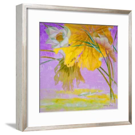 Blooming-Ailian Price-Framed Art Print