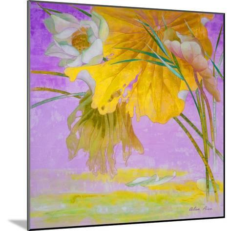 Blooming-Ailian Price-Mounted Art Print