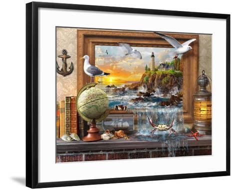 Marine to Life-Dominic Davison-Framed Art Print