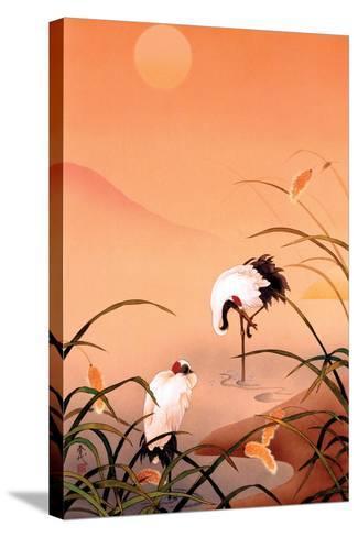 Birds-Haruyo Morita-Stretched Canvas Print