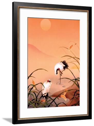 Birds-Haruyo Morita-Framed Art Print