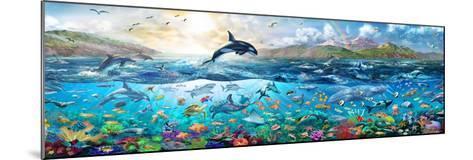 Ocean Panorama-Adrian Chesterman-Mounted Art Print