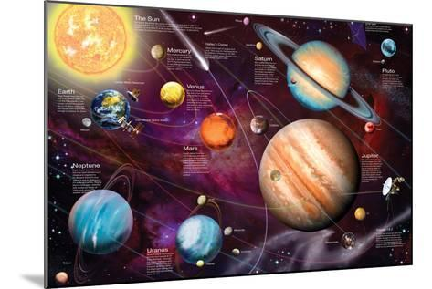 Solar System 2-Garry Walton-Mounted Art Print