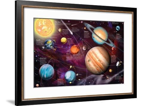 Solar System 2-Garry Walton-Framed Art Print