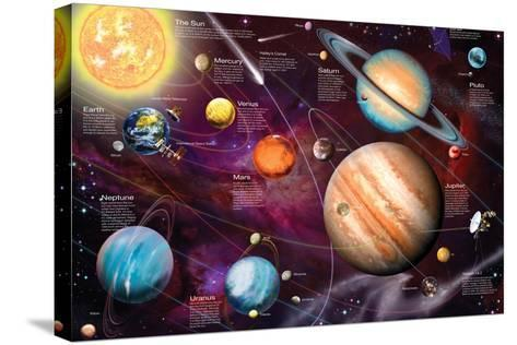 Solar System 2-Garry Walton-Stretched Canvas Print