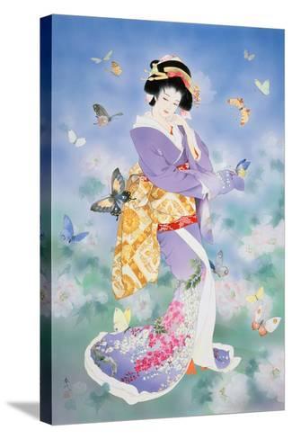 Chou No Mai-Haruyo Morita-Stretched Canvas Print
