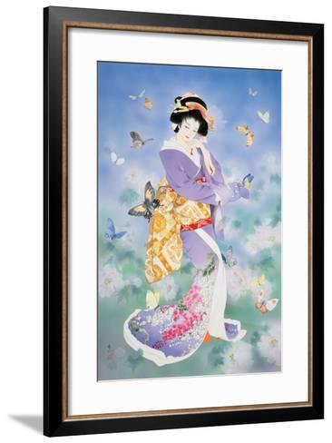 Chou No Mai-Haruyo Morita-Framed Art Print