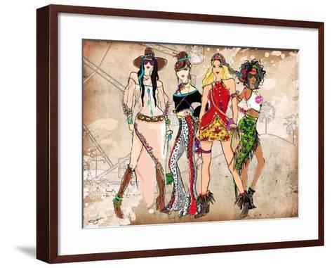 Boho Layout 2-Jodi Pedri-Framed Art Print