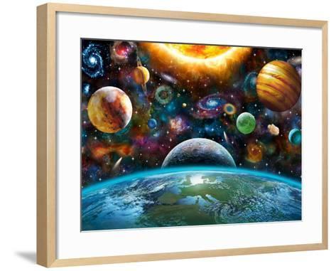 Universal Light-Adrian Chesterman-Framed Art Print