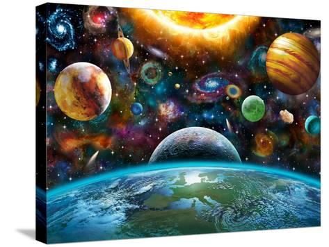 Universal Light-Adrian Chesterman-Stretched Canvas Print