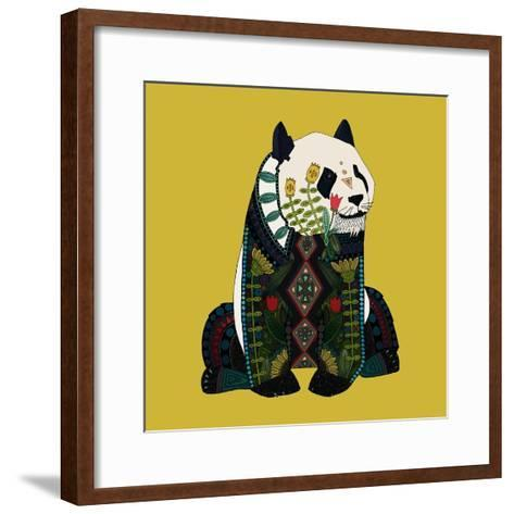 Sitting Panda-Sharon Turner-Framed Art Print