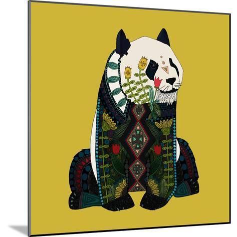 Sitting Panda-Sharon Turner-Mounted Art Print