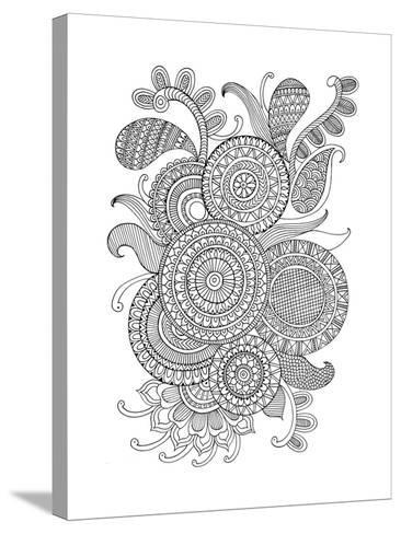 Pattern 2-Neeti Goswami-Stretched Canvas Print