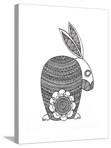 Animals Bunny-Neeti Goswami-Stretched Canvas Print