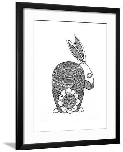 Animals Bunny-Neeti Goswami-Framed Art Print
