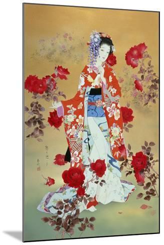 Bara-Haruyo Morita-Mounted Art Print