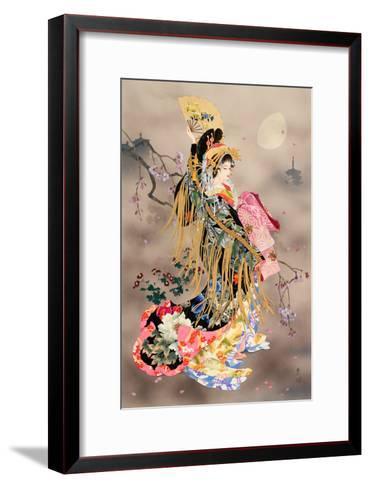Tsuki No Uta-Haruyo Morita-Framed Art Print