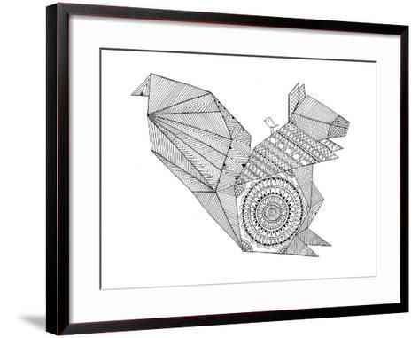 Origami 8-Neeti Goswami-Framed Art Print
