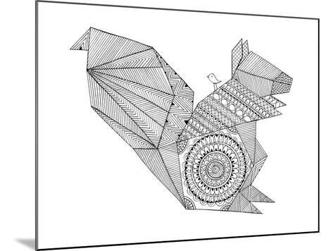 Origami 8-Neeti Goswami-Mounted Art Print