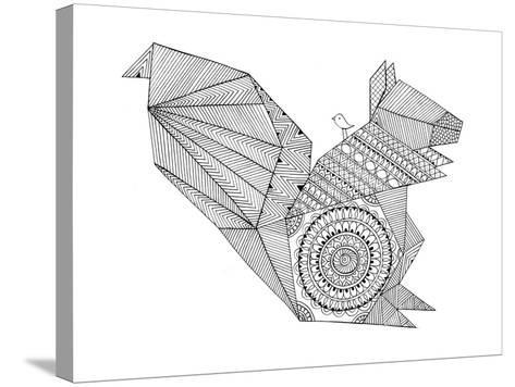 Origami 8-Neeti Goswami-Stretched Canvas Print