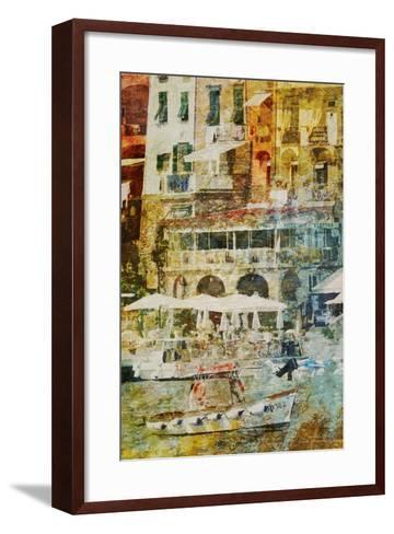 Gold Mediterrane 04-Joost Hogervorst-Framed Art Print