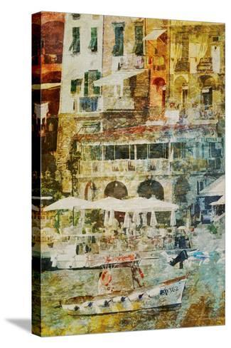 Gold Mediterrane 04-Joost Hogervorst-Stretched Canvas Print